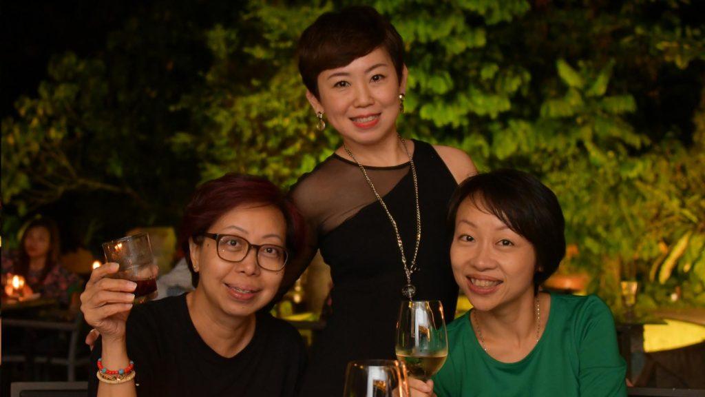 Evelyn Gow, Brendda Pang, Gow Hui Yian