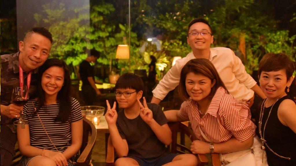Collin Low, Nurul Rizali, Rischon Rodrigues, Rey Yeo, Joanne Chong, Brendda Pang