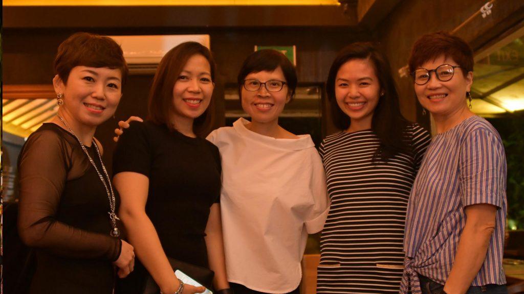 Brendda Pang, Jeannelyn Luistro De Juan Diana Pek, Nurul Rizali, Michelle Chan