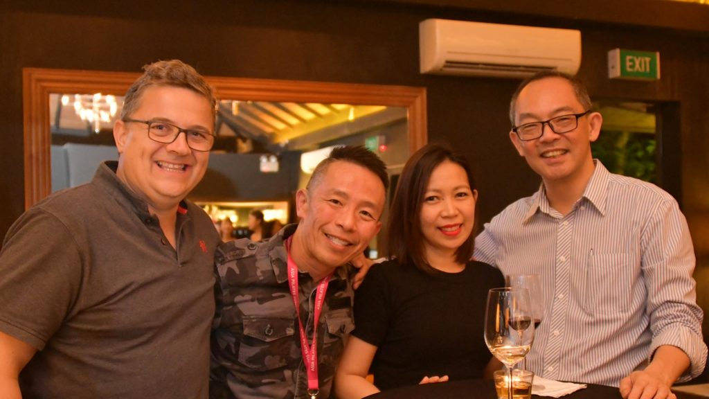 Andrew Hoare, Collin Low, Jeannelyn, Dr Winston Lim